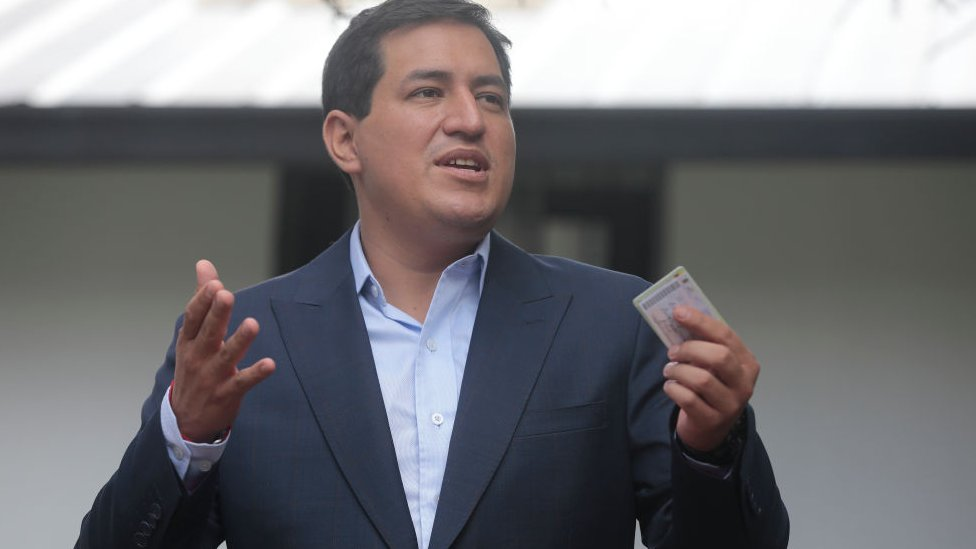 Andrés Arauz.