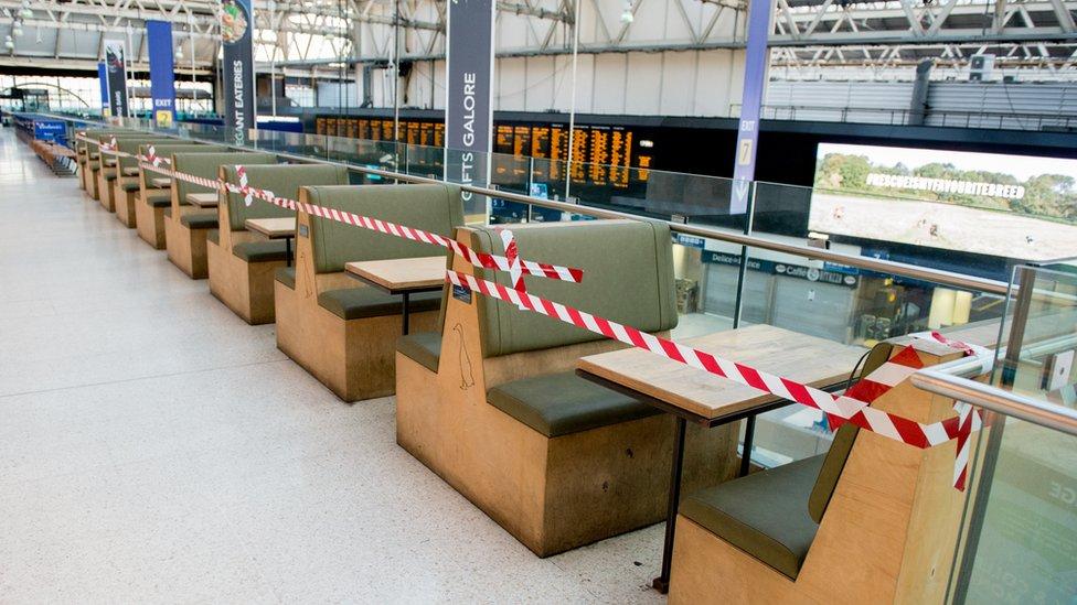 closed station
