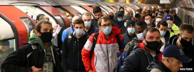 London Underground users
