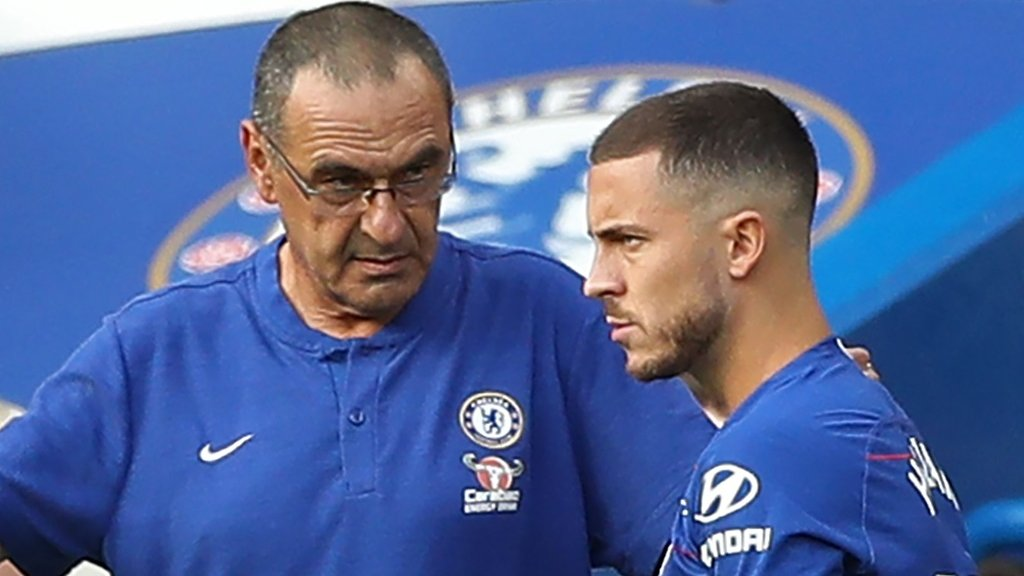 'The potential is higher than the performances': Hazard has to do more, says Sarri
