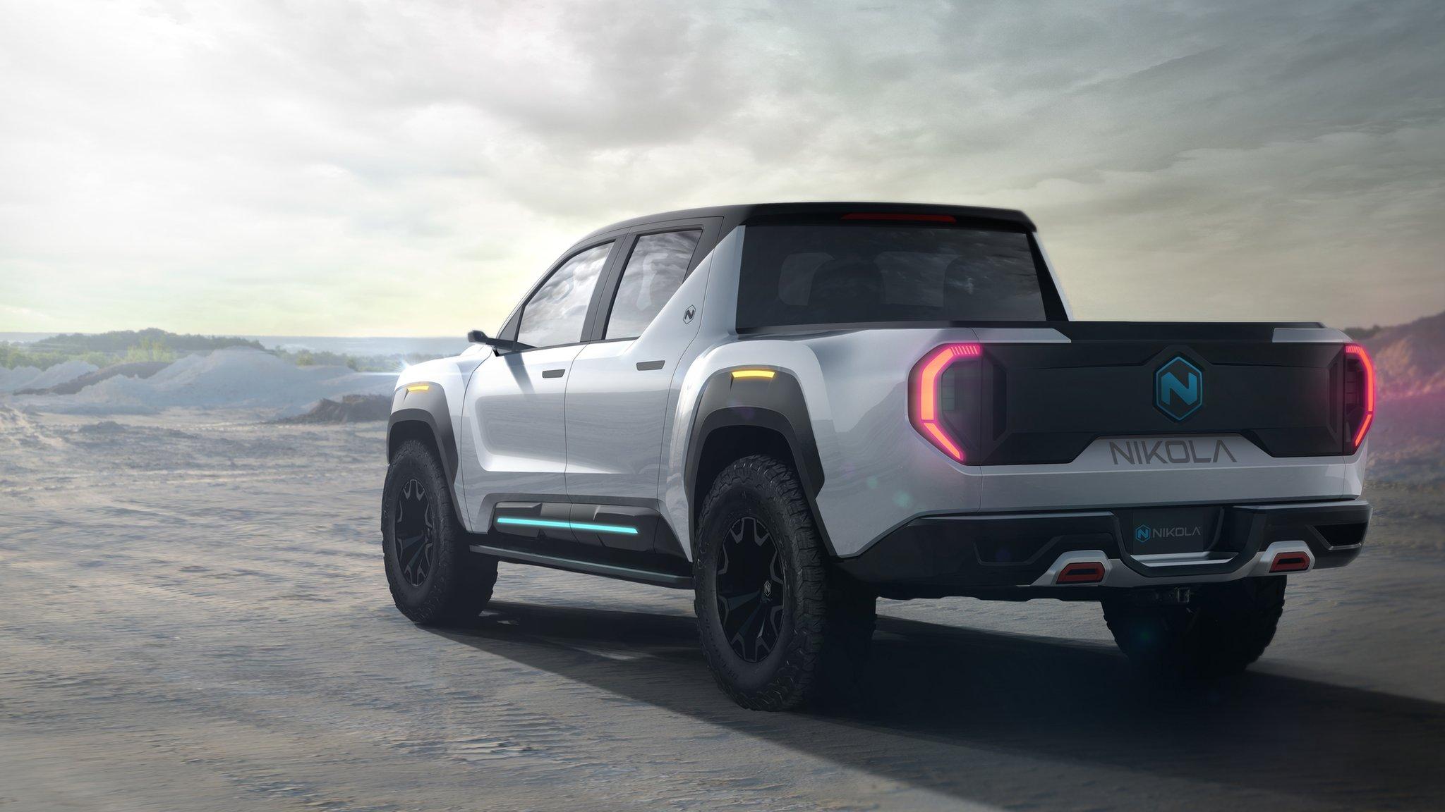 Electric Truck Start Up Nikola Takes On Car Giants Bbc News