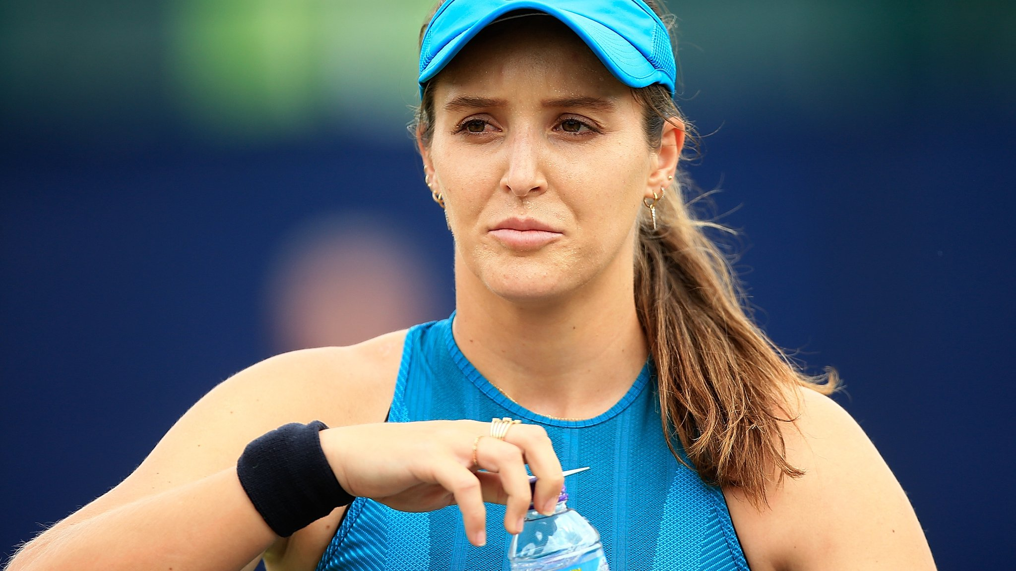 Laura Robson: Comeback from hip surgery 'better than expected'