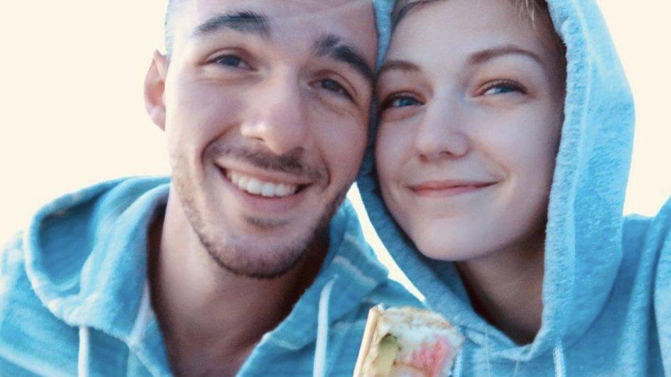 Brian Laundrie y Gabrielle Petito