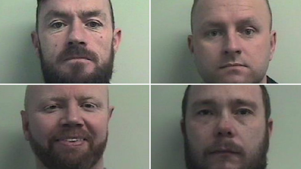 Six guilty of 'rival gang' murder bids