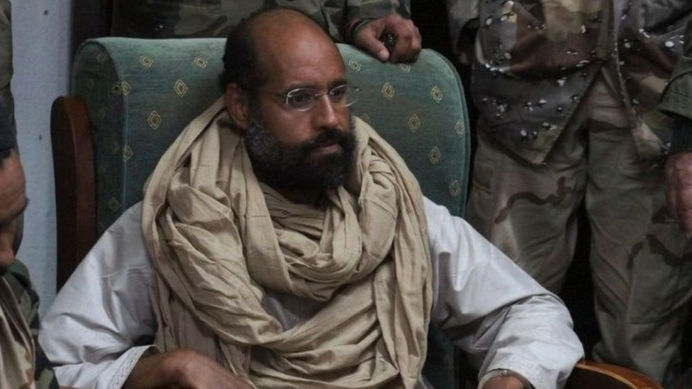 حكم على سيف الإسلام القذافي غيابيا بالإعدام من طرف محكمة في طرابلس