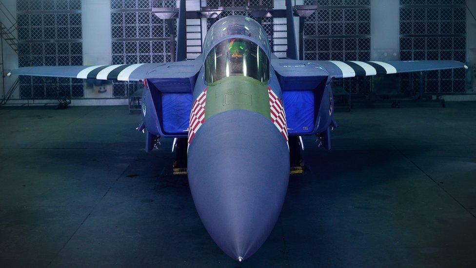 F-15E Strike Eagle in WW2 colours