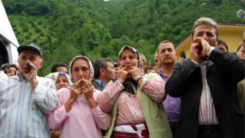 Whistlers in Turkey