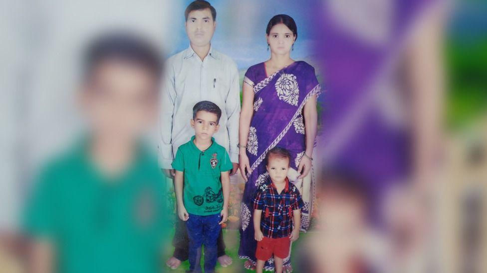 Rajan Yadav, Sanju e dois filhos