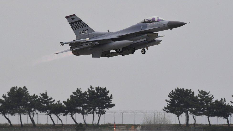 Avión militar estadounidense