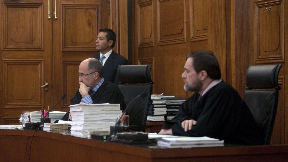 Ministros de la Suprema Corte