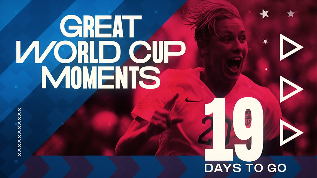 Women's World Cup 2019: Abby Wambach's neat goal from 2015 - 19 days to go