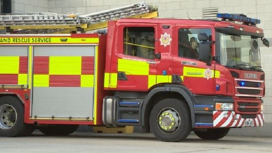 Man charged as three taken to hospital after Aberdeen fire