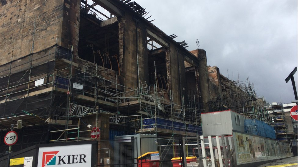 Glasgow Art School 'will be saved' after devastating fire