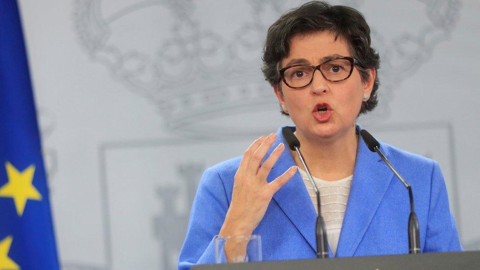 Arancha González Laya, ministra de Relaciones Exteriores de España
