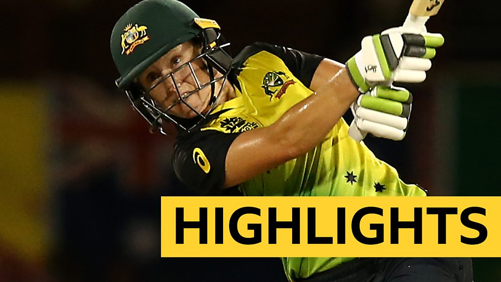 Women's World T20 highlights: Healy's half century provides platform for Australia win