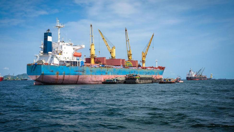Barcos de carga