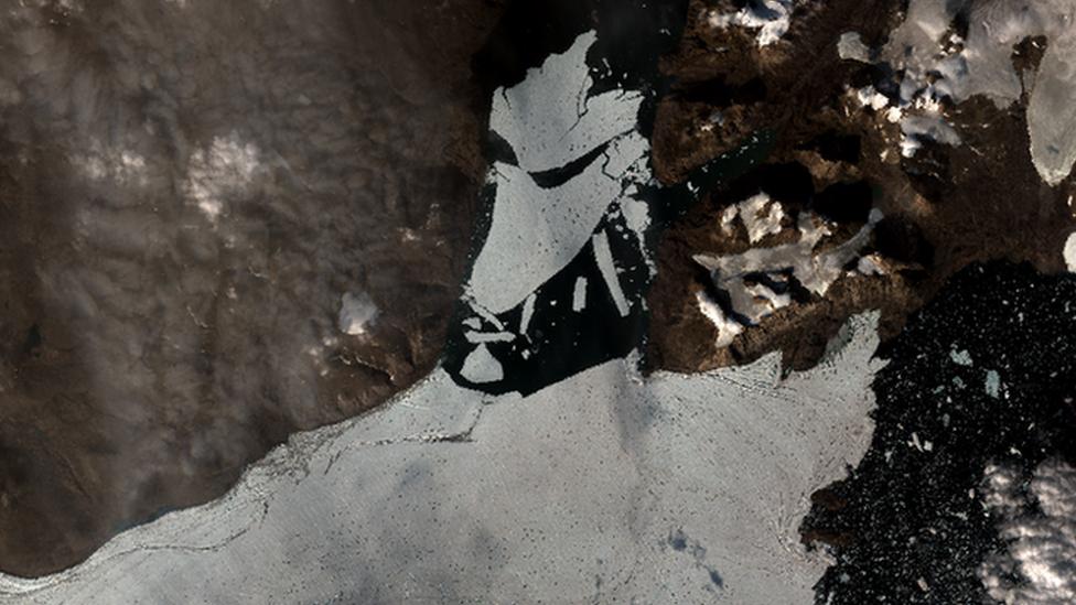 Spalte Glacier