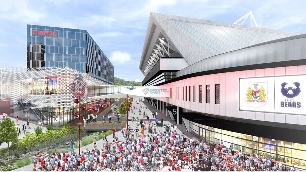 Plans for £100m indoor arena in Bristol unveiled