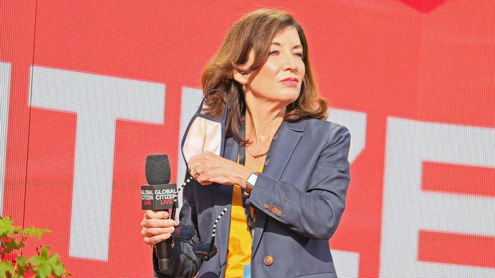 Kathy Hochul.
