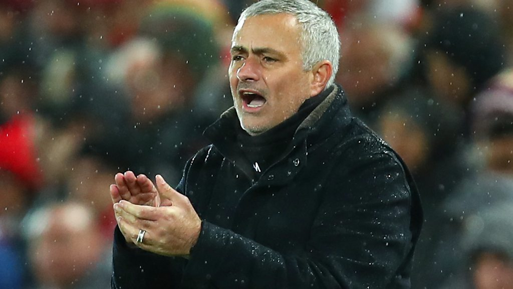 Liverpool 3-1 Man Utd: Jose Mourinho says Klopp's team were 'stronger, better, faster'