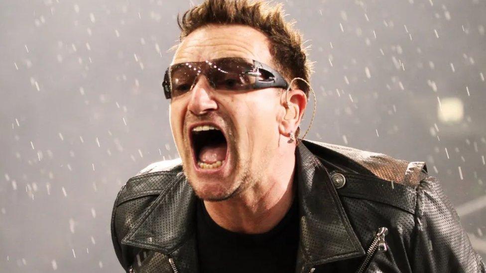 Bono, pevač grupe U2