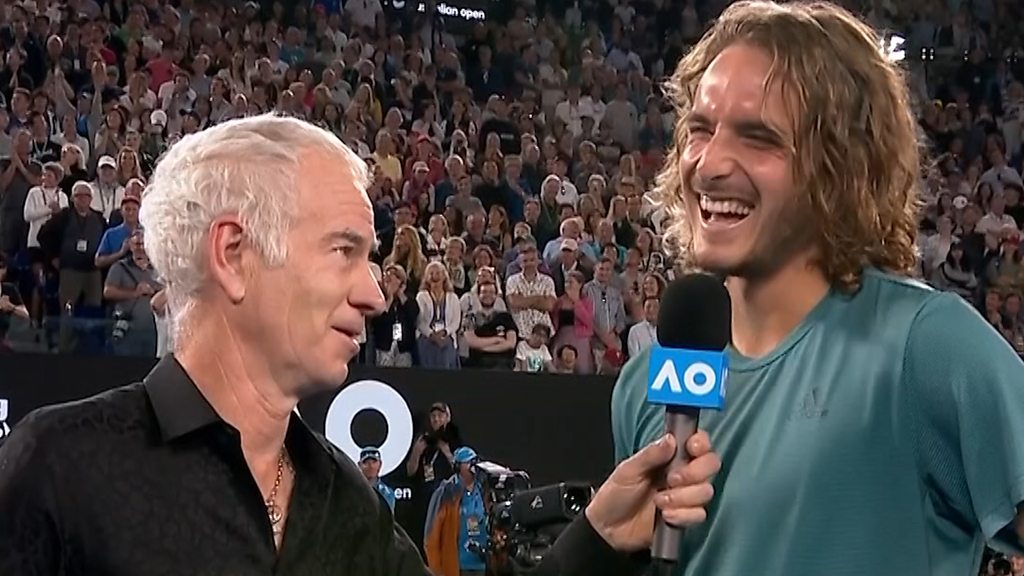 Australian Open 2019: Stefanos Tsitsipas speaks after win over Roger Federer