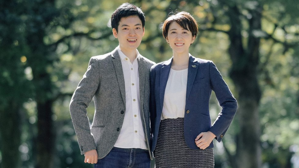 Kotaro Usui y Mari Inoue