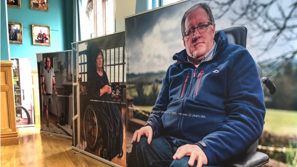 Exhibition highlights special pension for injured campaign