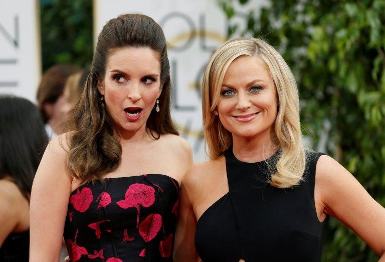 Las comediantes Tina Fey y Amy Poehler.