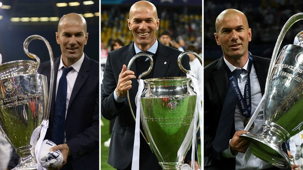 Champions League final: Zinedine Zidane happy to be making history with Real Madrid