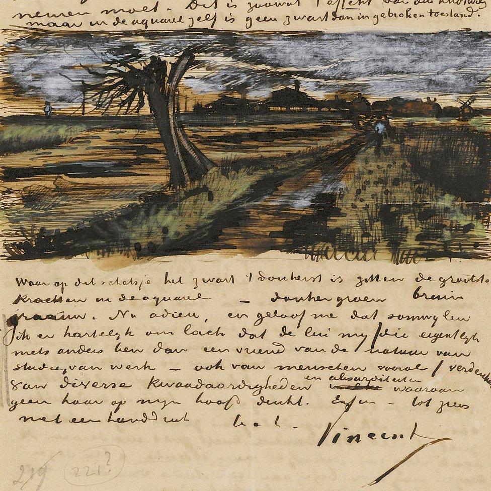 Carta de Vincent a Theo van Gogh