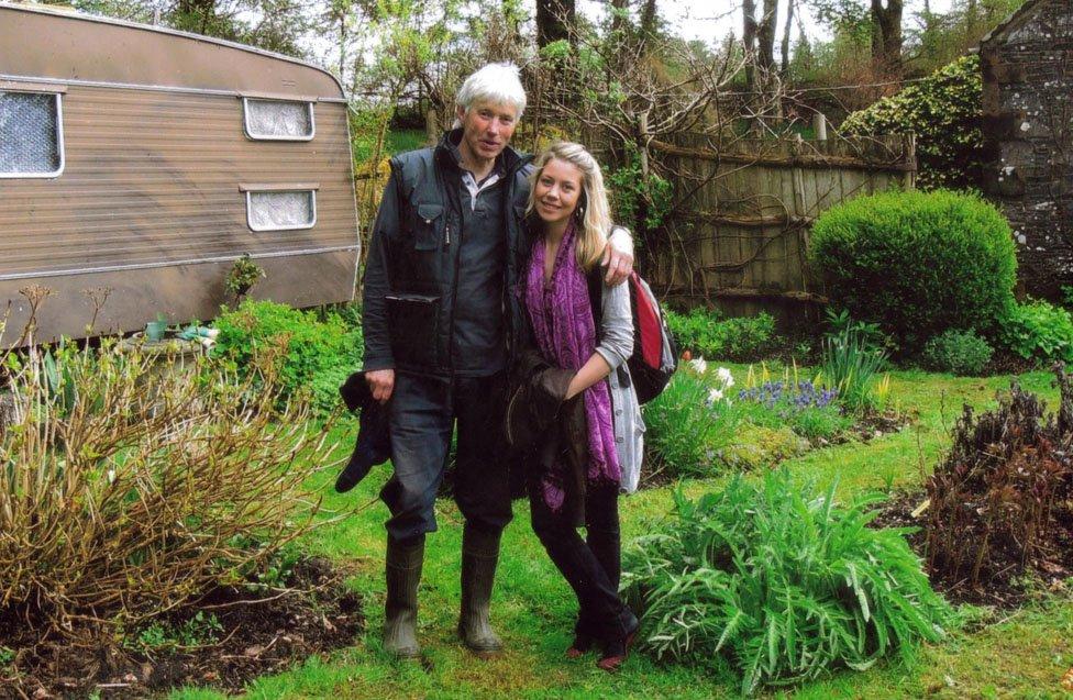 Patrick and his daughter Kezia