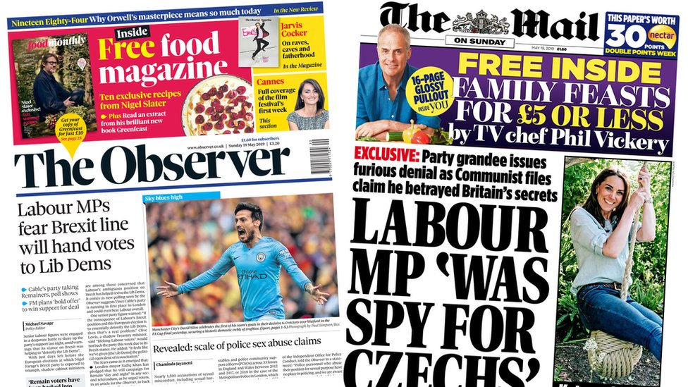 Paper review: Lib Dems 'detoxify' and MP denies spy claim