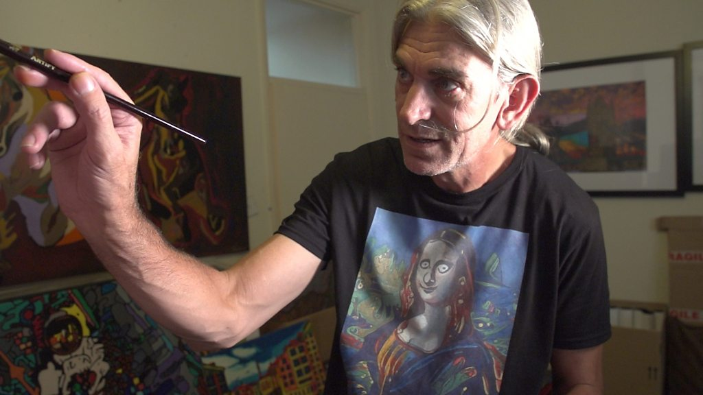 Meet the artist whose brain makes him paint all night