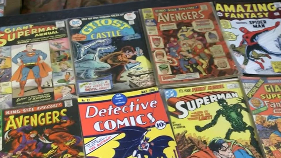 Marvel and DC comics: Man sells £350k collection