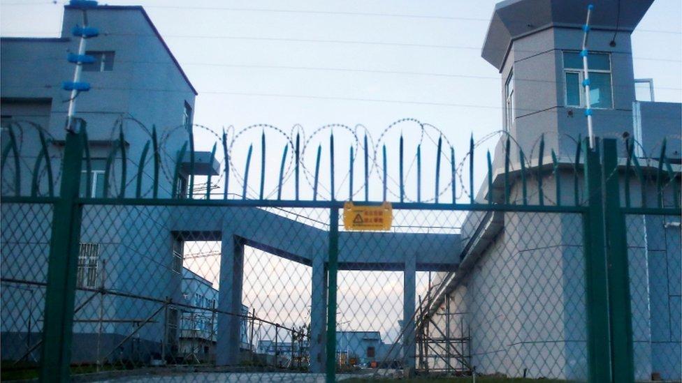 Xinjiang camp
