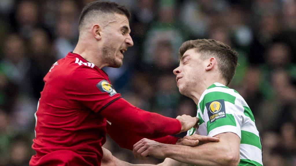 Ryan Christie: Celtic midfielder cannot remember Dom Ball clash