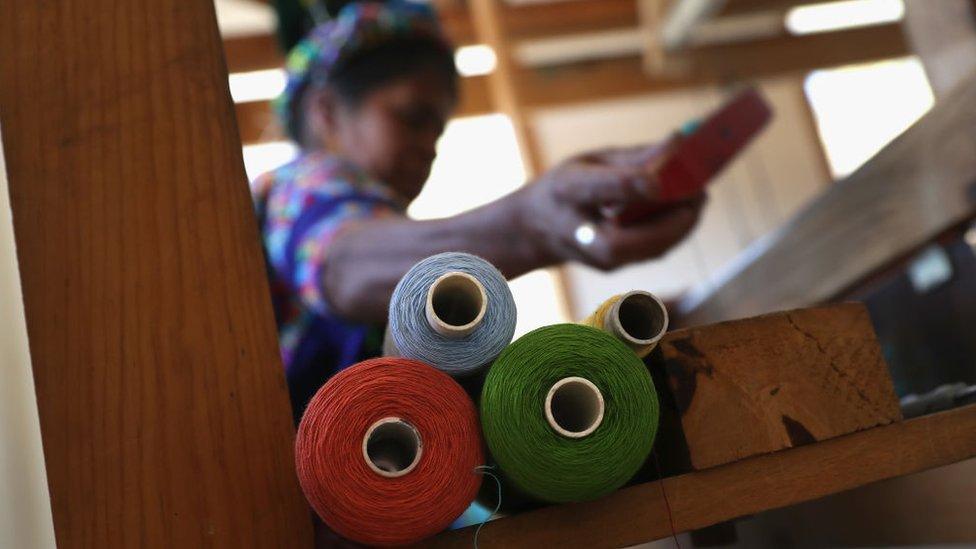 Mujer guatemalteca