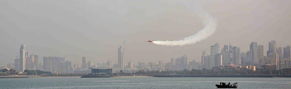 Reds in Kuwait