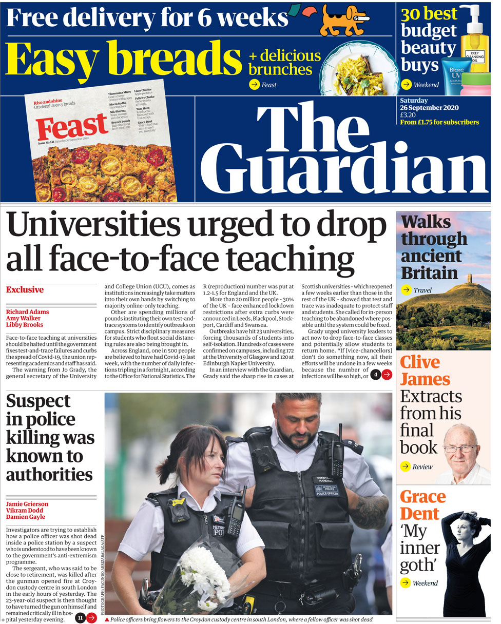The Guardian Saturday