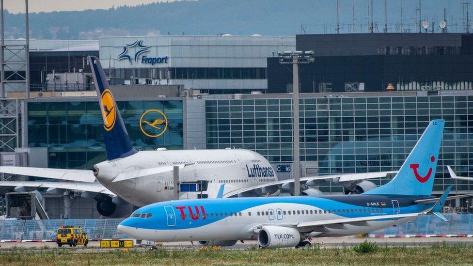Аэропорт Франкфурта закрывали из-за мужчины, крикнувшего
