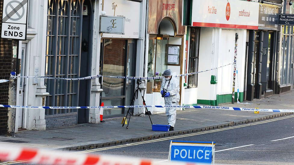 Bedford stabbing death: two men released on bail