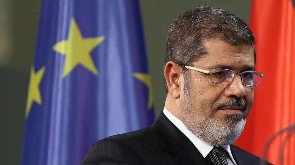 الرئيس المصري السابق محمد مرسي