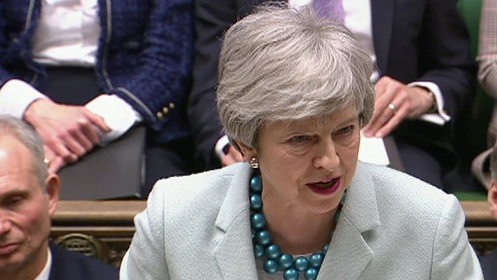 Brexit: Theresa May on her 'frustration with MPs' speech