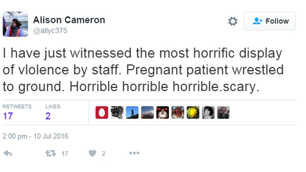 Alison Cameron tweet