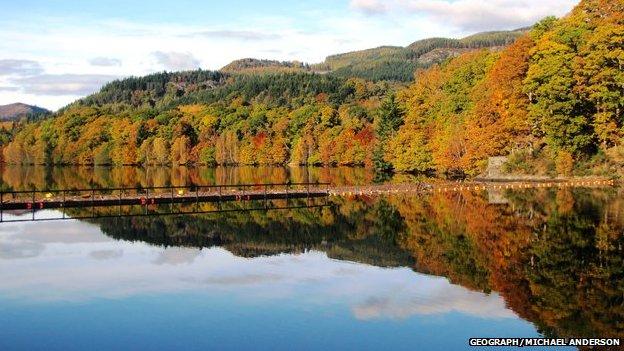 Loch Fàs na Coille