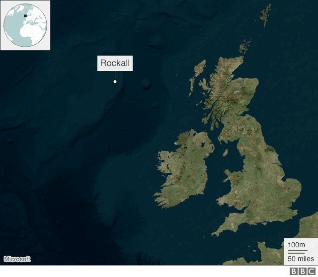 Rockall map