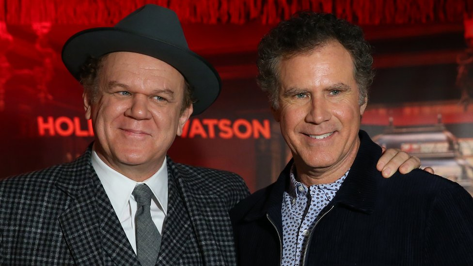 John C Reilly (left) and Will Ferrell