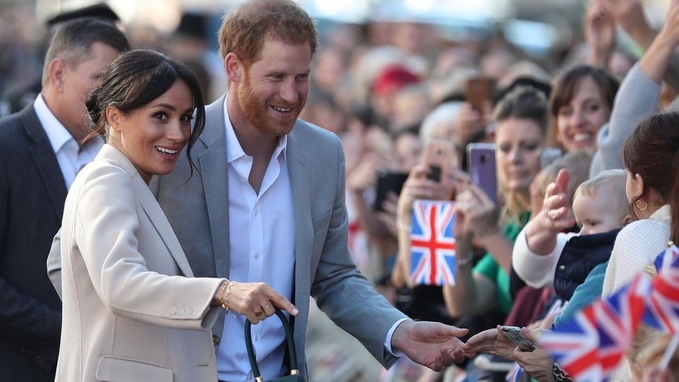 Harry and Meghan's visit