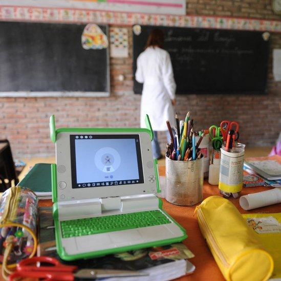 Escuela rural en Uruguay